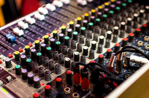 DJ professional mixer technology